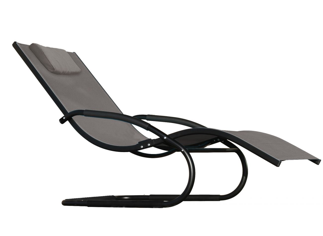 Chaise Wave Grey