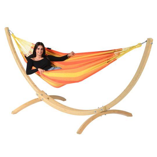 Hamac Sur Pied 1 Personne Wood & Dream Orange