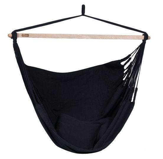 Hamac Suspendu 2 Personnes Luxe Black