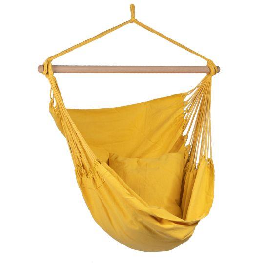 Hamac Suspendu 1 Personne Organic Yellow