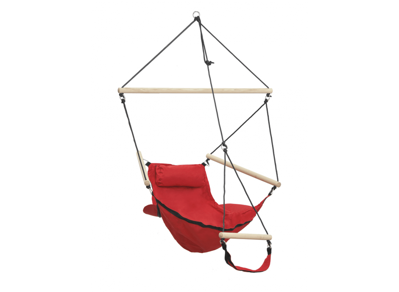 Hamac Suspendu 1 Personne Swinger Red