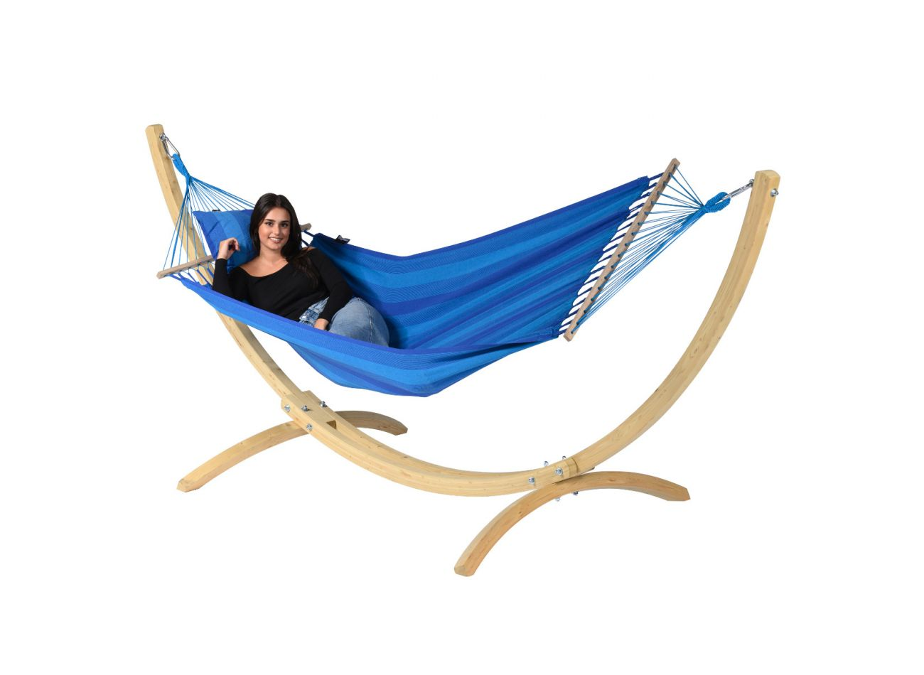 Hamac 1 Personne Relax Blue