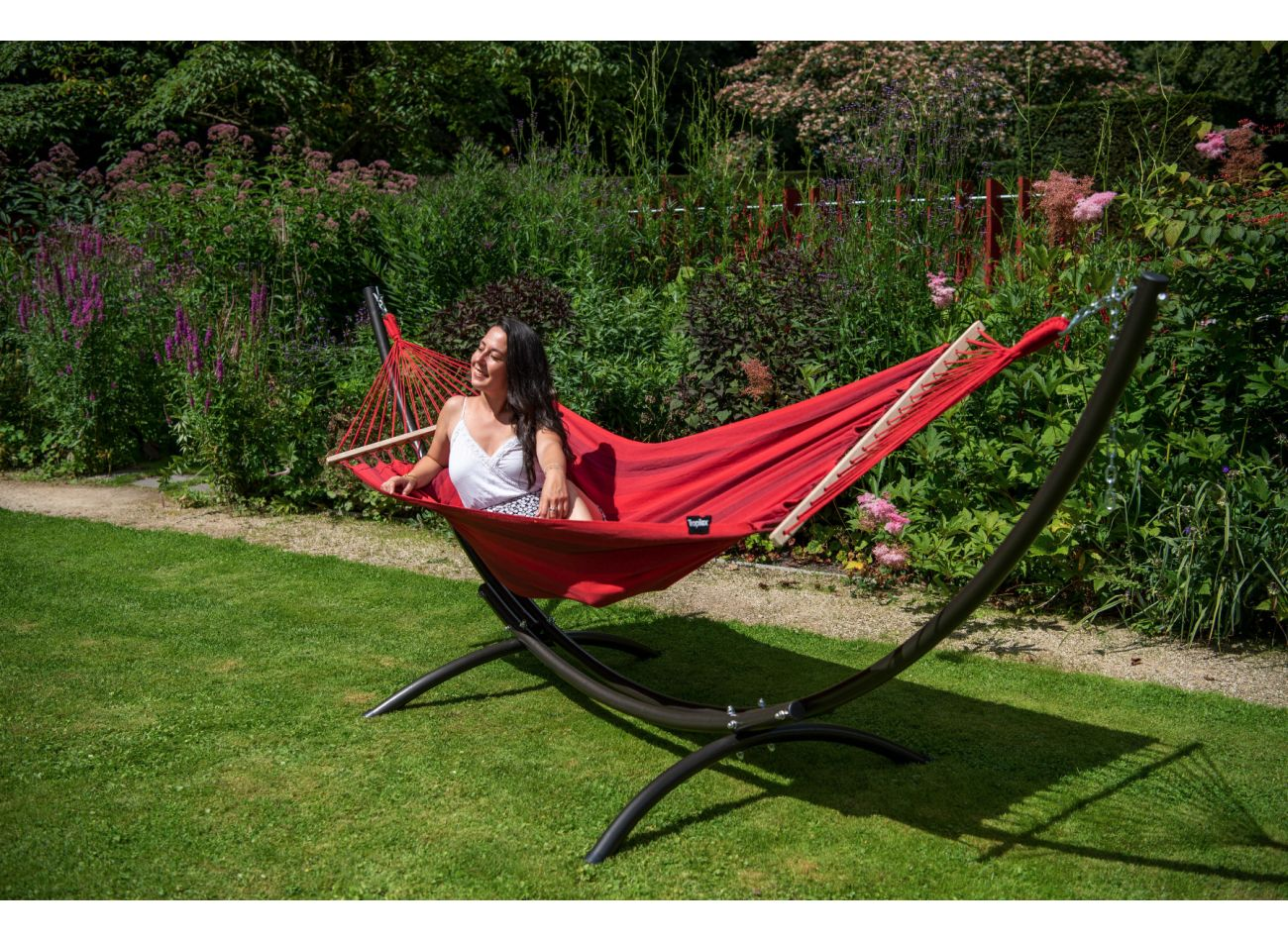 Hamac 1 Personne Relax Red